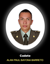 Cadete ALAN PAUL BAYONA BARRETO
