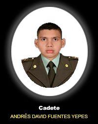 Cadete ANDRES DAVID FUENTES YEPES