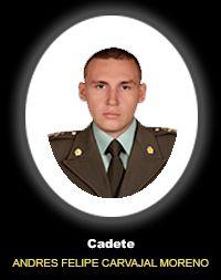 Cadete ANDRES FELIPE CARVAJAL MORENO