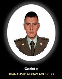 Cadete JUAN DAVID RODAS AGUDELO