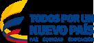 """Policía Nacional de Colombia - Logo """"Todos por un nuevo País"""""""