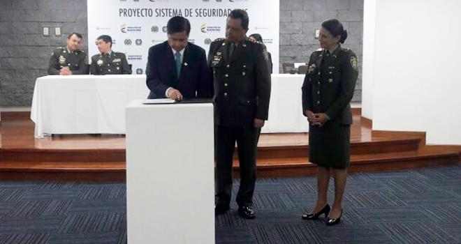Con el sistema abis a la vanguardia en la lucha contra el crimen convenio entre ministerio del - Lntoreor dijin ...