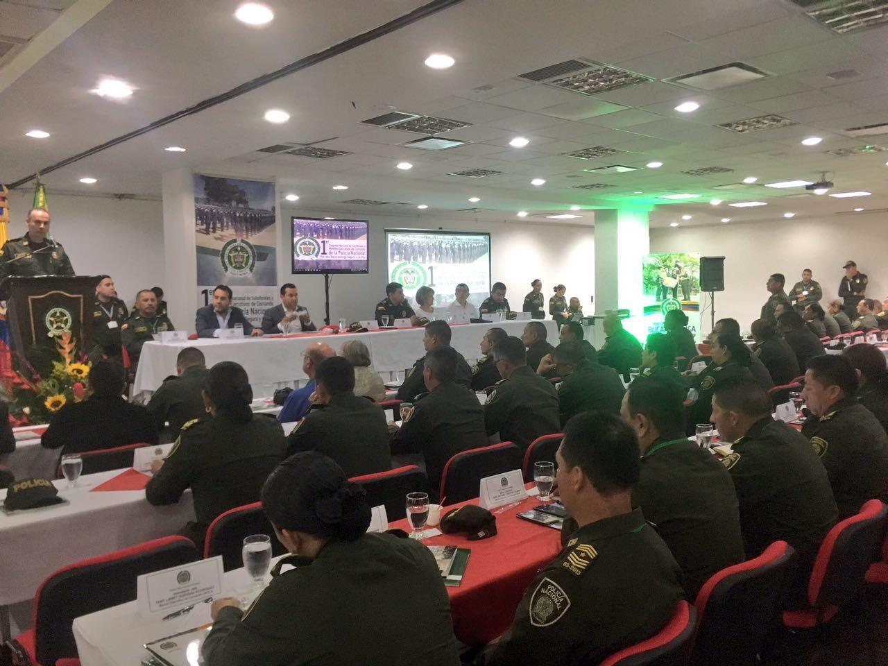 Primer congreso nacional de suboficiales y mandos for Oficina policia nacional