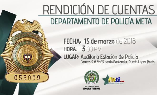 El departamento de polic a meta rendir cuentas polic a for Oficina de policia