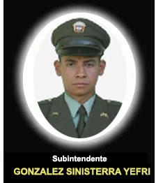 SI. Gonzalez Sinisterra Yefri