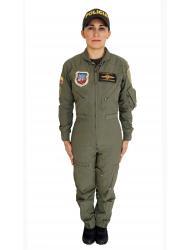 Uniforme Overol de vuelo Mujer.