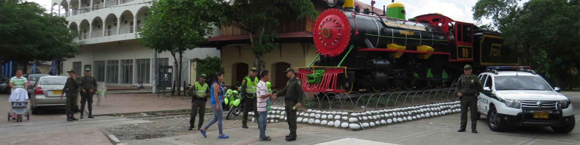 Policía en el departamento de Cundinamarca