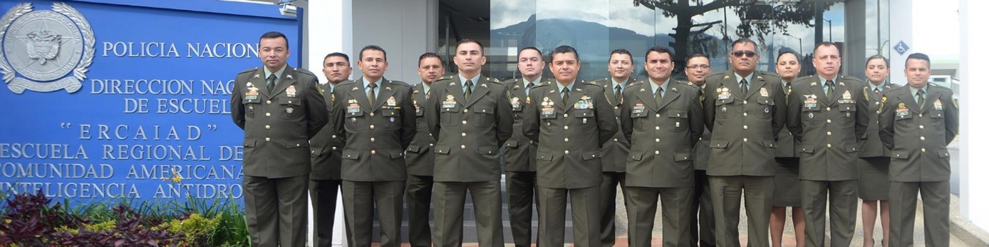 Dirección de Antinarcoticos Escuela Regional de la Comunidad de Inteligencia Antidrogas ERCAIAD.