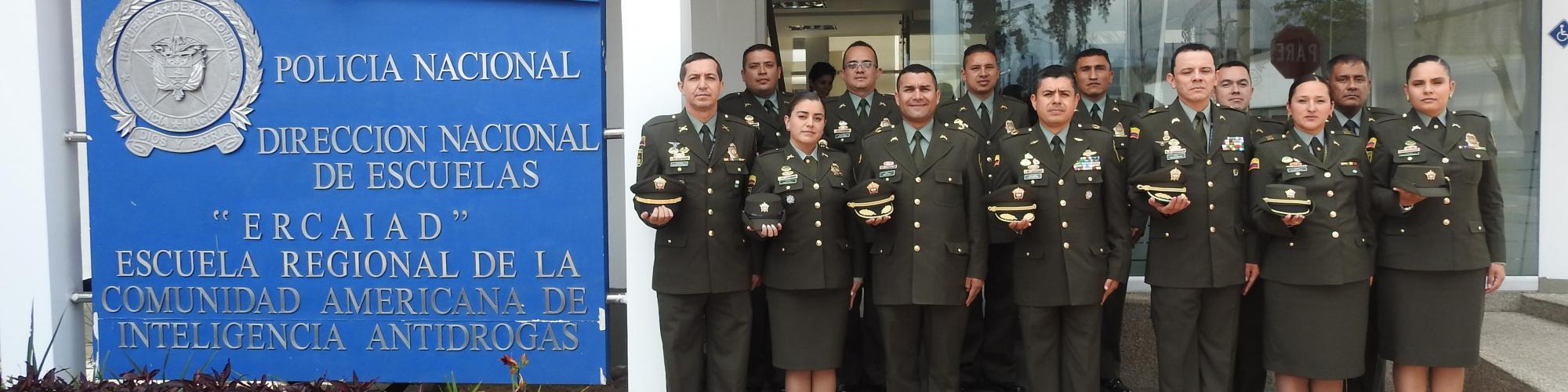 Escuela Regional de la Comunidad de Inteligencia Antidrogas ERCAIAD