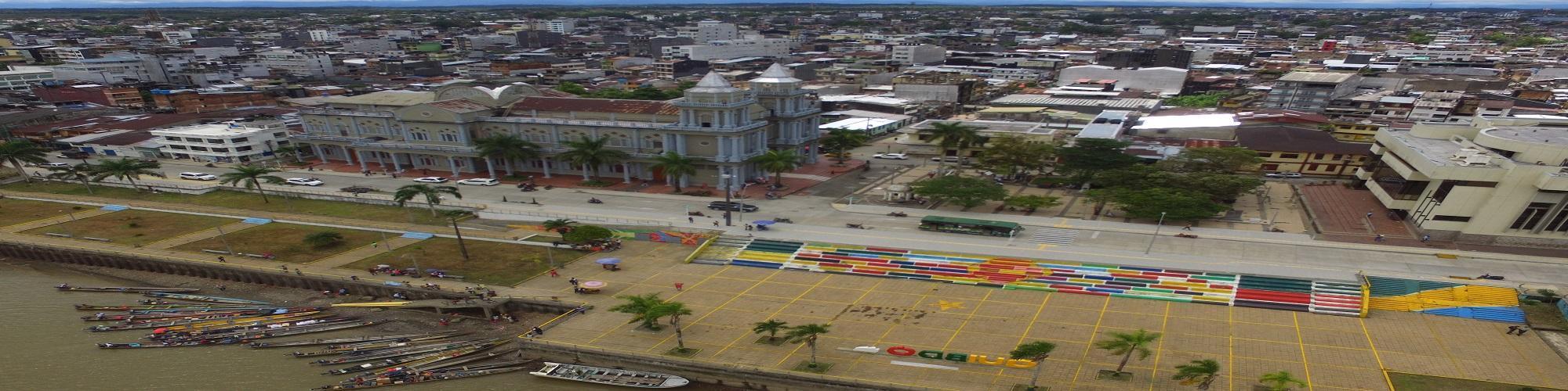 Malecón de la ciudad de Quibdó