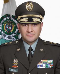 Director de Antinarcóticos de la Policía Nacional