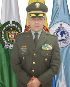 Teniente coronel John Jairo Urrea Rozo