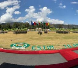 Ceremonia de condecoración con motivo del septuagésimo aniversario ESJIM