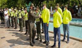 1.200 Policías estarán en la capital del Cesar.