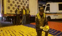 mil kilos de marihuana fueron incautados en vías de Risaralda