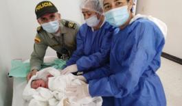 Ayudamos a dar a luz a una mujer en Villavicencio1