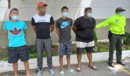 Cuatro de sus integrantes fueron capturados mediante orden judicial y dos en flagrancia