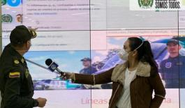 Policía de Cundinamarca, realiza campaña contra delitos cibernéticos