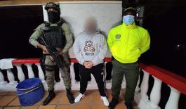 Capturado 'Bola' cabecilla del grupo delincuencial 'los chivos'