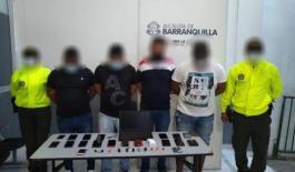 Mediante allanamientos se obtuvo la captura de cuatro personas