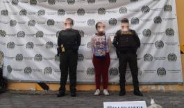 esta vez fue detenida en la avenida Boyacá