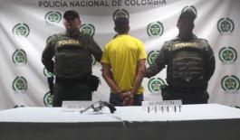 """Cayó en flagrancia """"El Rolo"""" en Barrancabermeja"""