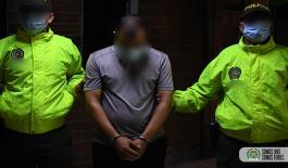 Capturado 'la muda' o 'el mudo' cabecilla del grupo delincuencial común organizado 'villa flora'