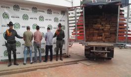 """mediante labores de registro y control en el sector de la vereda """"San Fernando"""" jurisdicción del municipio de Puerto Concordia, se llevó a cabo la captura en flagrancia de tres ciudadanos"""