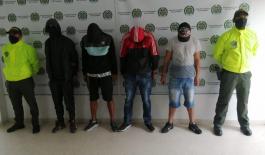 """Desarticulada organización delincuencial denominada """"FAST"""" dedicados al hurto de celulares en Manizales"""