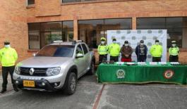 Capturados en Sogamoso con armamento y munición