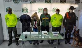 Capturados en Villa de Leyva por tráfico de estupefacientes