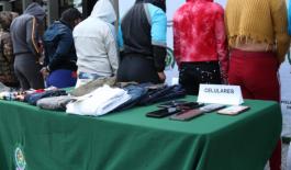 """Desarticulamos el grupo de delincuencia común organizado """"mechas"""" dedicado al hurto a comercio"""