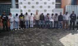 """Contundente golpe al grupo de delincuencia """"la agonía"""" en la comuna 13"""