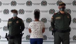 Capturada en flagrancia mujer de 28 años de edad por el delito de lesiones personales