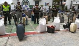 Gran operativo en contra del contrabando deja excelentes resultados en el departamento de Arauca.