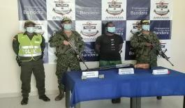 Continúan capturas por porte ilegal de armas de fuego