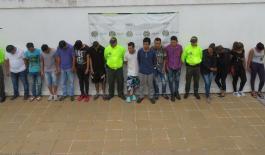 """Desarticulamos banda delincuencial """"los parceros"""" dedicada al tráfico local de estupefacientes."""