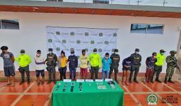 """Desarticulación banda delincuencial """"los tomas"""" en Puerto Carreño"""