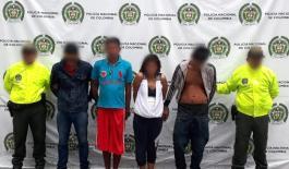 """En ofensiva nacional todos contra el hurto, en Mocoa desarticulado """"Los Chirris"""""""