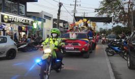 Desfile de inicio de confraternidad amazónica Colombia