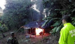 En Yondó destruimos laboratorio de cocaína