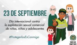 Día Internacional contra la Explotación Sexual Comercial de Niñas, Niños y Adolescentes
