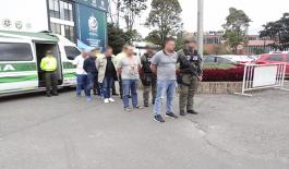 Capturadas seis personas con fines de extradición, integrantes de una red criminal vinculada al clan del golfo