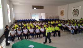 Encuentro departamental de cívicas juveniles
