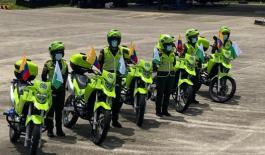 Con el apoyo del Ministerio del Interior fortalecemos el parque automotor en Putumayo