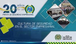 La policía nacional de Colombia será la anfitriona del XVII encuentro anual del Frente de Seguridad Empresarial.