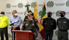 Rueda de prensa capturados homicida Policía