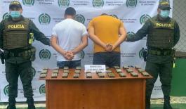 Capturados dos sujetos tras hallazgo de abundante munición.