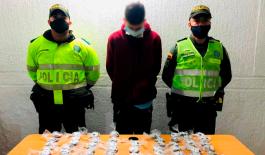 Incautamos 3.570 dosis de bazuco y 100 dosis de heroína en Pereira