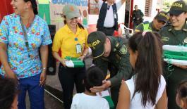 180 niños reciben kit escolar en Anserma